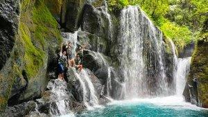 TRAVEL UPDATE : Air Terjun Pelaruga, Wisata Alam Eksotis di Langkat Sumatera Utara