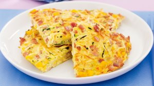 Menu Sahur: Resep Hashbrown Omelette Enak, Hidangan Mirip Pizza yang Mengenyangkan