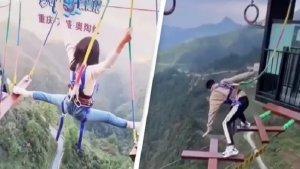 Viral Video Wisatawan Lewati Berbagai Rintangan Ekstrem, yang Nonton Jadi Merasa Ngeri