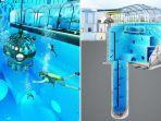 Kolam Terdalam di Dunia Dibuka di Polandia, Tawarkan Pengalaman Menyelam Seperti di Laut