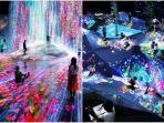 Bak 'Pintu Ajaib ke Masa Depan' Museum Baru di Jepang Ini Pamerkan Sederet Modernitas Seni Digital