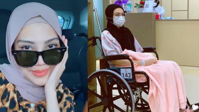 Elyana mengeluh bingung cari uang untuk pengobatan kankernya