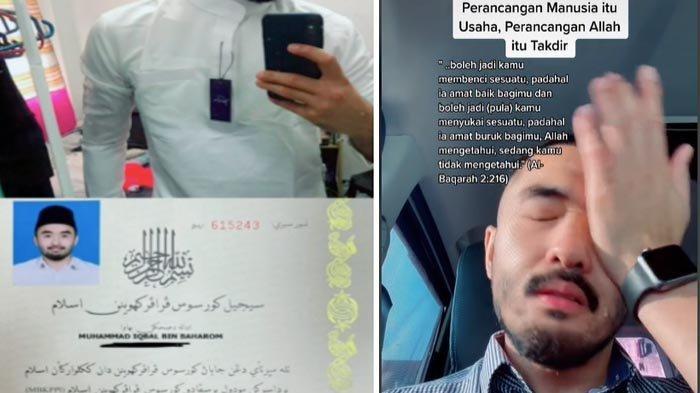 Iqbal Baharom menangis patah hati tak jadi menikah