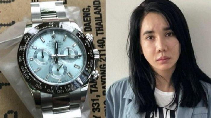La Thi Anh mencuri jam tangan mahal milik pacarnya