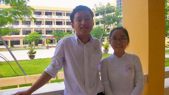 Tran dan Hien semasa sekolah menengah