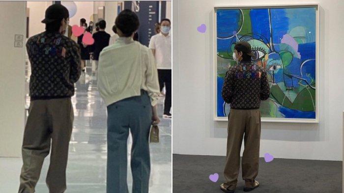 V BTS di Korea International Art Fair 2021