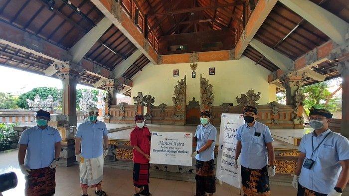 Astra Financial Serahkan Ventilator Pada Provinsi Bali