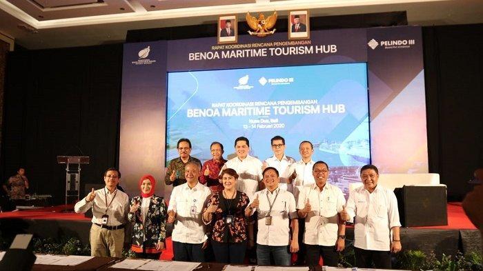 Kembangkan Benoa Maritim Tourism Hub, Pelindo III Kerjasama dengan 8 BUMN
