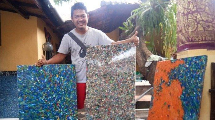 Putu Eka Darmawan Ubah Sampah Plastik Menjadi Meja Cantik Bernilai Ekonomis