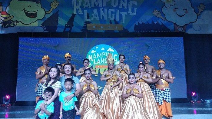 Kampung Langit, Wisata Edukasi Budaya Bagi Anak di The Keranjang Bali