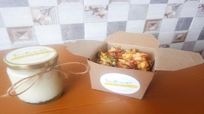 Sunflower Rice Box dan Strawberry Cream Cheese, Menu Sehat Dan Harga Yang Terjangkau