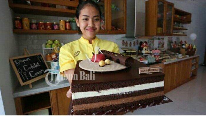 Lezatnya Berbagai Cake Coklat Yang Ditawarkan Di Dapur Cokelat Denpasar