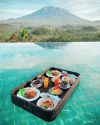View Cantik Gunung Agung, Jadikan Patal Kikian Villas Favorit Turis Asing dan Lokal