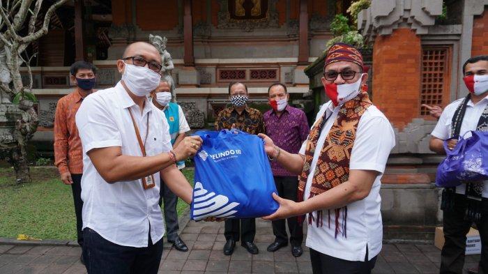 Pelindo III Bersama BUMN dan Perbankan Swasta Bantu Warga Terdampak Covid-19 di Bali