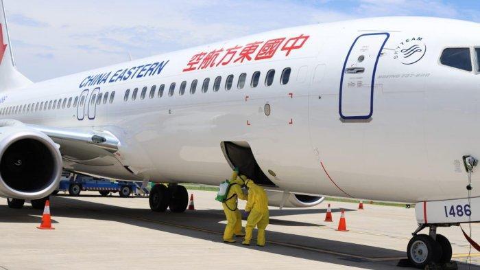 Bandara Ngurah Rai Lepas Pesawat Penjemput Wisman China
