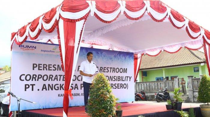 Dukung Pariwisata, PT Angkasa Pura I (Persero) Resmikan Public Restroom di Kawasan Pura Besakih