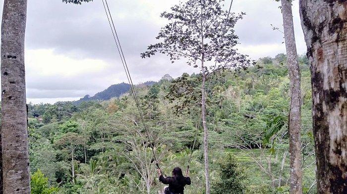 Wow, Sidemen Swing Tawarkan Pemandangan Alam Nan Indah