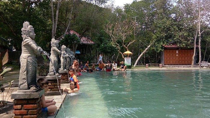 Natural Hot Spring Pool Banyuwedang, Obyek Wisata Yang Berada Di Area Bali Barat