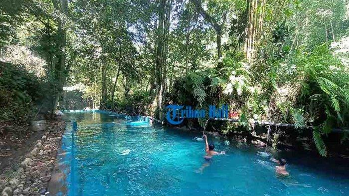 Serunya Mandi di Telaga Tirta Nadi, Destinasi Wisata Baru di Tabanan Bali, Hanya Perlu Bayar Donasi