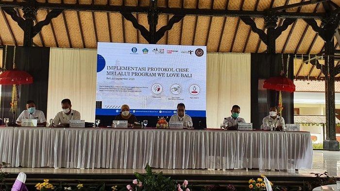 Implementasi CHSE Lewat Program We Love Bali Ajak 4.400 Turis Lokal
