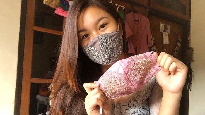 Hadirkan Hingga 15 Pilihan Warna, Masker Brokat Ini Selalu Terjual Sampai Puluhan Pcs