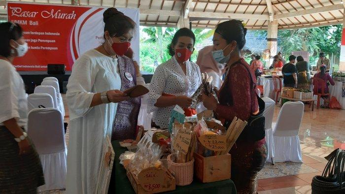 Pertiwi Indonesia Bali Gelar Pasar Murah UMKM, Jalankan Kembali Roda Perekonomian di Era New Normal