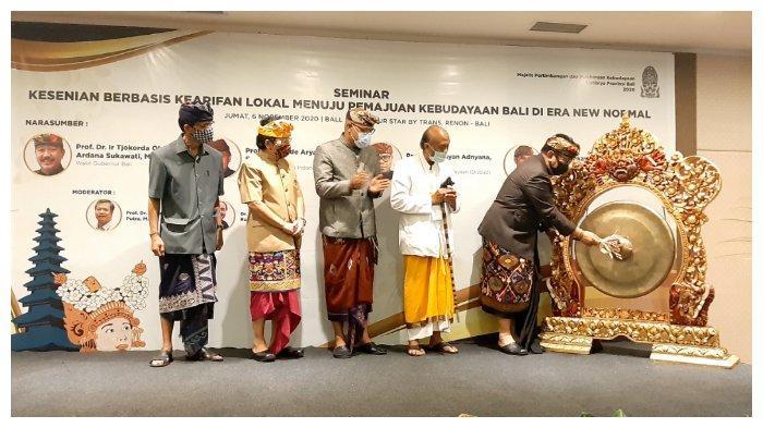 Listibiya Gelar Kesenian Berbasis Kearifan Lokal Menuju Pemajuan Kebudayaan Bali di Era New Normal