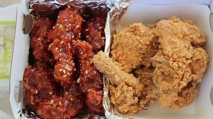 Ayam Goreng ala Korea Bikin Sensasi Mendunia