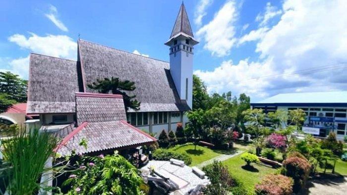Keindahan Gereja Katolik Hati Santa Maria Tak Bernoda, Destinasi Wisata Religi di Tanjungpinang