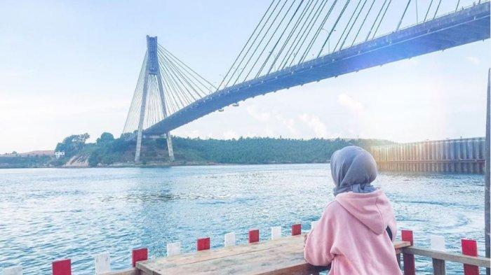 Lihat Pemandangan Jembatan Barelang dari Dendang Melayu, Bisa Sekalian Wisata Kuliner