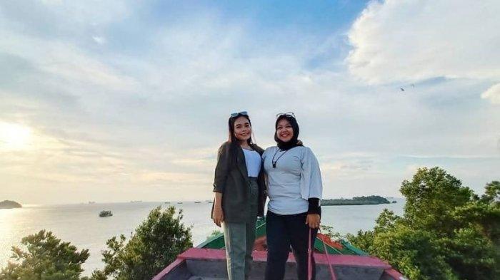 Keindahan Pantai Cipta Land Tiban, Suguhkan Pemandangan dari Kaki Langit Singapura