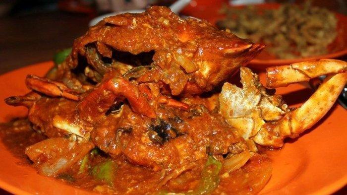 kepiting saos pedas bagian dari makanan laut atau sea food (ilustrasi)