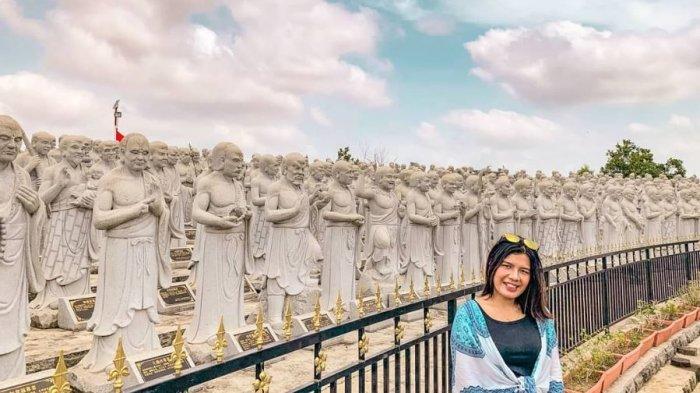 Pesona Vihara Patung Seribu, Jadi Pilihan Spot Instagramable di Tanjungpinang