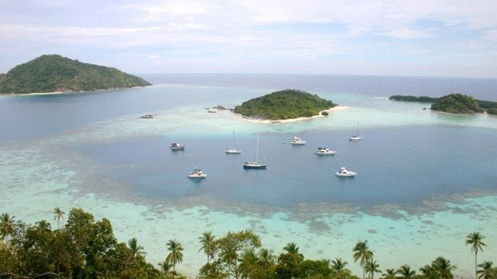objek wisata Pulau Bawah Anambas