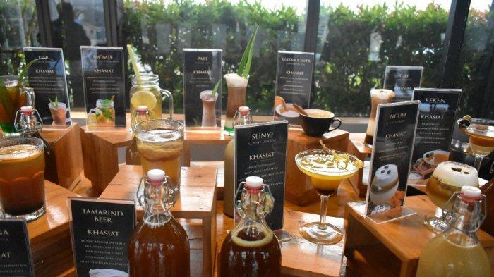 Sajian jamannya minum jamu Hotel Mercure Bandung