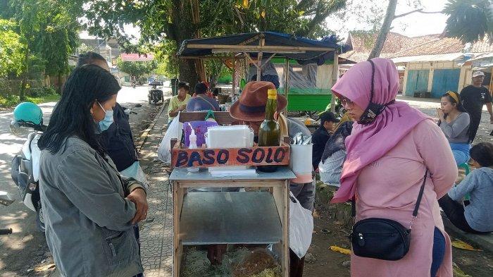 Bakso Solo Pak Pardi di Blok Pasar Wisata Pangandaran