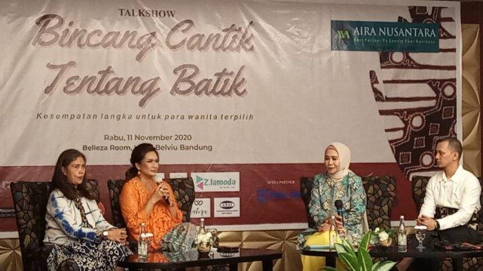 Acara Bincang Cantik tentang Batik di Belviu Hotel Bandung
