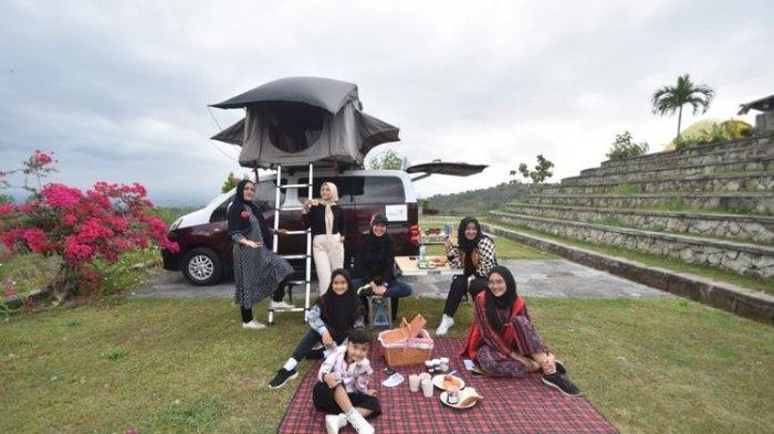Piknik dengan camper van