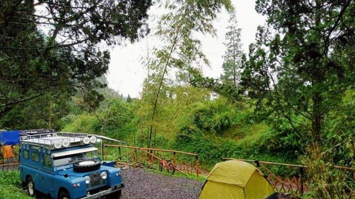 Campervan Park  di kawasan wisata Sari Ater, Kecamatan Ciater, Kabupaten Subang