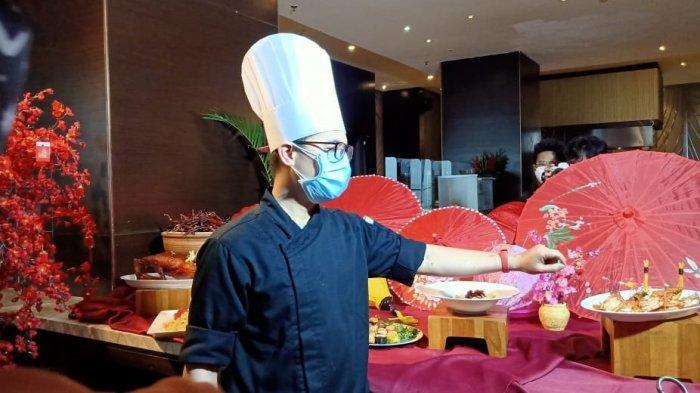 Chef di Intercontinental Dago Pakar, Bandung