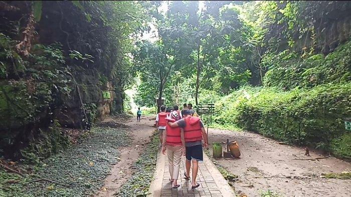 Objek Wisata Citumang di Blok Sukamanah, Desa Bojong, Kecamatan Parigi, Kabupaten Pangandaran