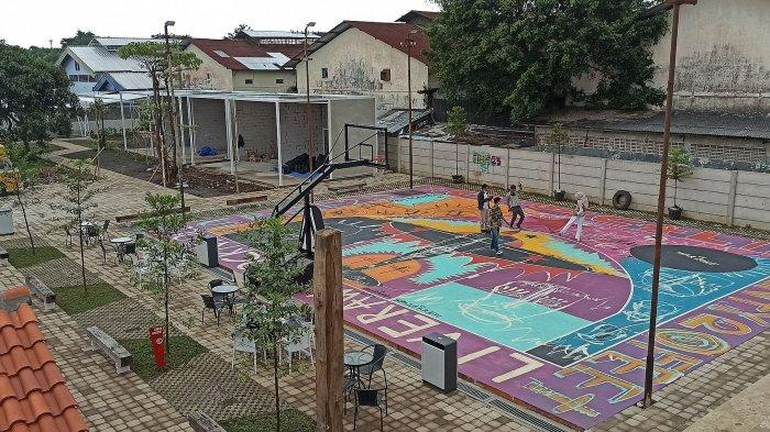 Lapangan basket yang bisa disewa di Critical 11 Jalan Pajajaran 148
