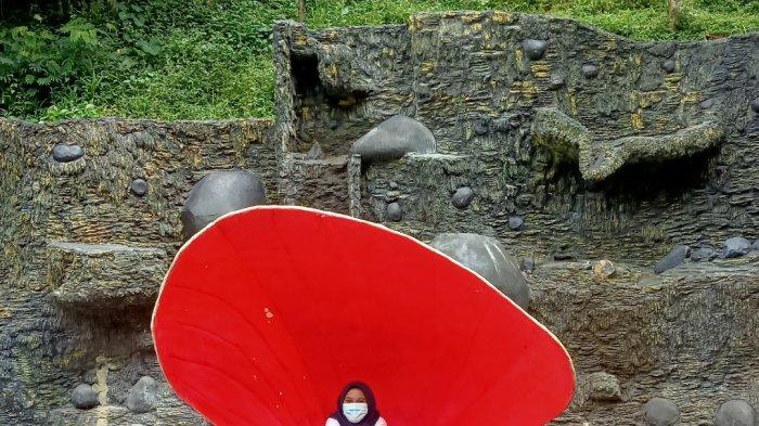 Spot foto tiram di Dago Dreampark, Lembang