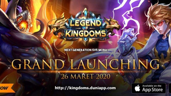 Bosan Di Rumah? Yuk Coba Game Baru, Legend of Kingdoms