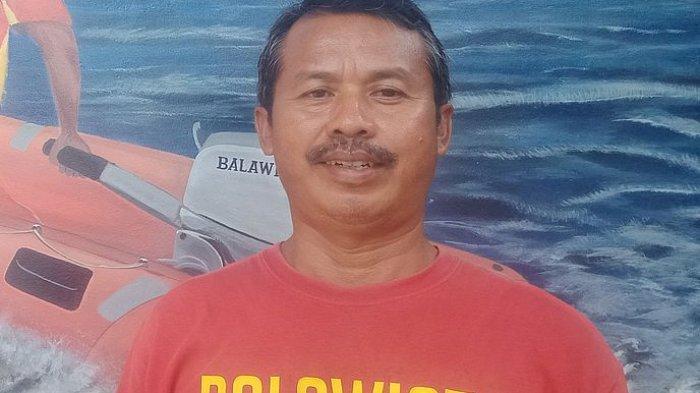 Ketua balawista Pangandaran, Heri Haerudin