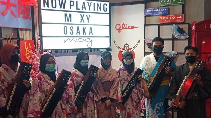 komunitas Jepang UPI No Nihongo Gakuseikai di spot foto favorit bergaya Jepang