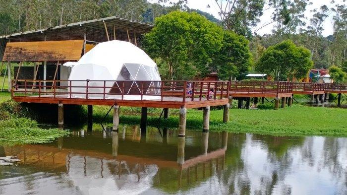 Bersiap Menikmati Kamping Mewah di Rancaupas, Ada Fasilitas Iglo dan Bobobox