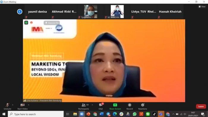 Ina Auliana, Presiden Indonesia Marketing Association (IMA)