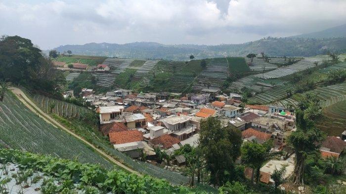 Penampakan Kampung Cibuluh, Desa Tejamulya, Kecamatan Argapura, Kabupaten Majalengka