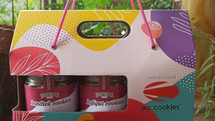 kemasan kue bandrek dan bajigur produksi JnC Bandung